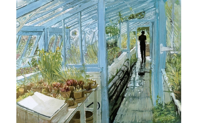 Greenhouse at Down House
