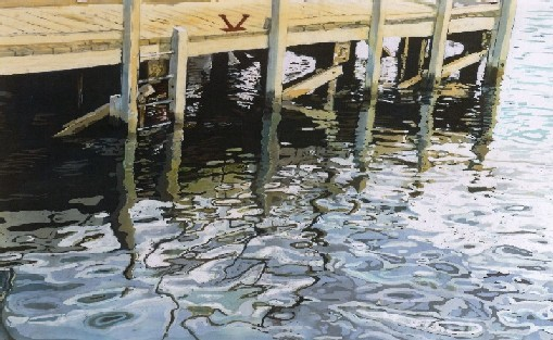Reflection of Wharf