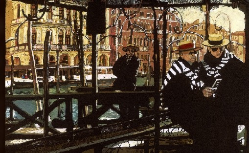 Gondoliers Texting