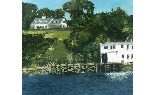 The Totman's House and Boathouse