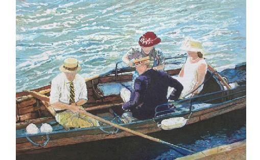 Spectators at Henley Regatta