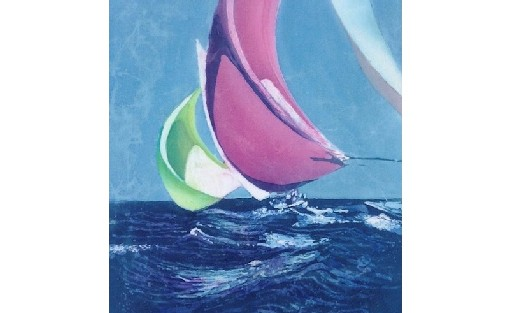 Colourful Spinnakers